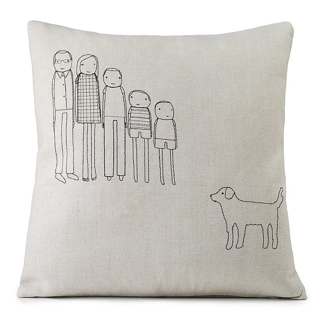 Personalized Family Pillow | Christmas Gifts For Mom | POPSUGAR Moms ...