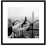 High Heel Pumps Over Manhattan Wall Art ($339)