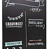 Pregnancy-Tracking Chalkboard