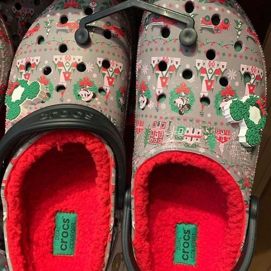 Disney Is Selling Christmas Crocs Lined With Red Fleece