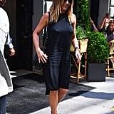 Jennifer Aniston Black Dress June 2016