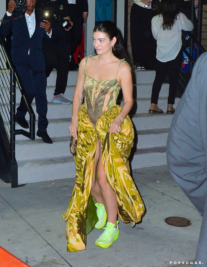 Lorde at the 2021 Met Gala After Party