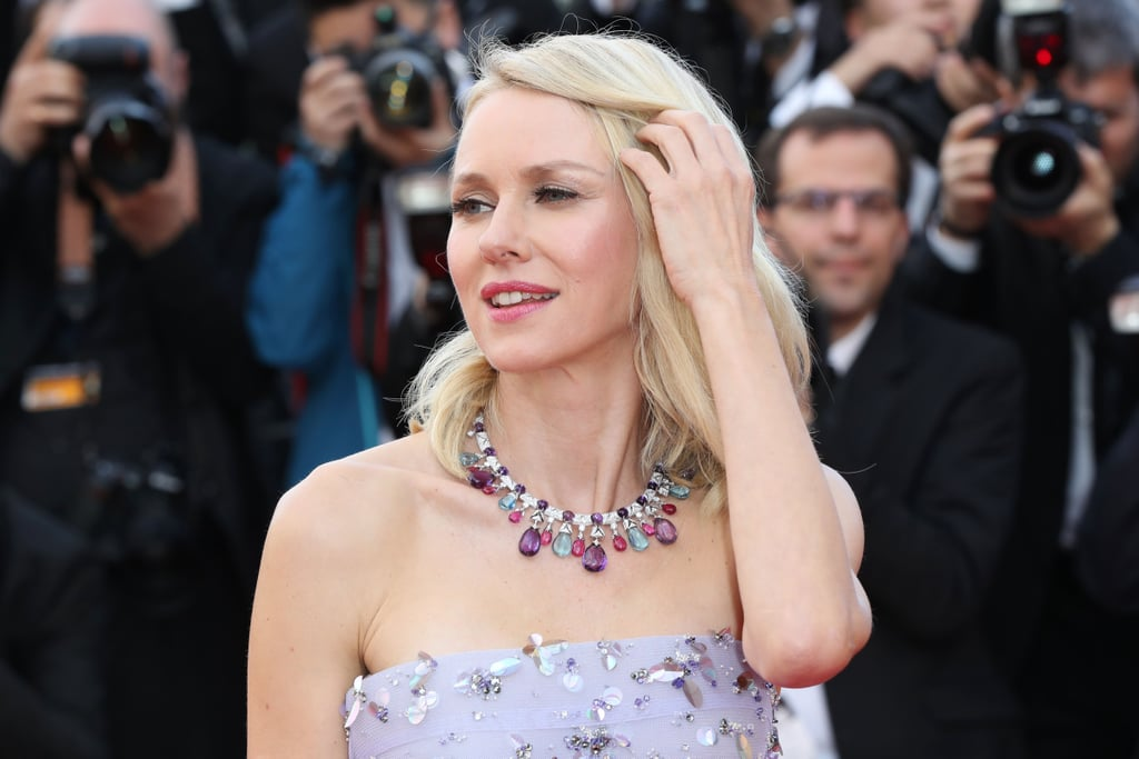 Naomi Watts Swept Aside Her Hair to Reveal a Gemstone Choker