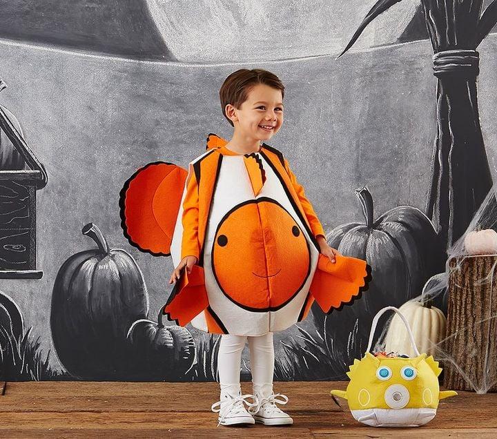 Animal halloween costumes for kids popsugar moms for Puffer fish costume
