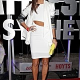 Erin McNaught at the Battleship premiere in Sydney.