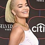 Rita Ora Gold Tooth