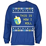 "Old Glory Hanukkah ""This Is How I Roll"" Dreidel Sweatshirt"