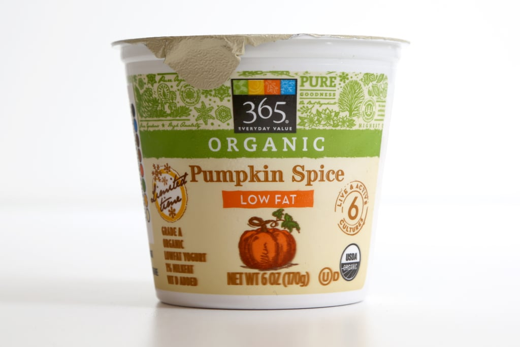 365 Organic Pumpkin Spice Low Fat Yogurt
