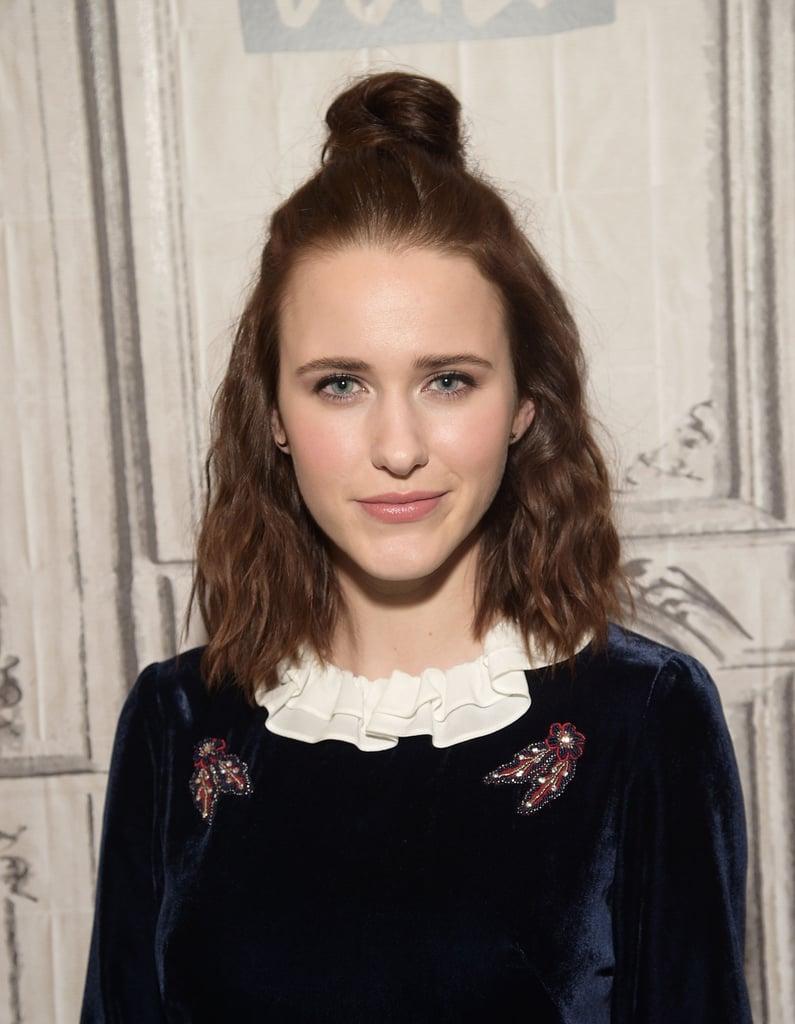 Rachel Brosnahan With Brown Hair in 2017