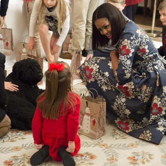 Michelle Obama and Military Families at the White House 2016