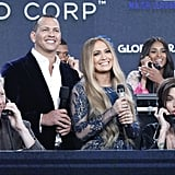 Jennifer and Alex couldn't look happier while hosting the telethon portion in Los Angeles.