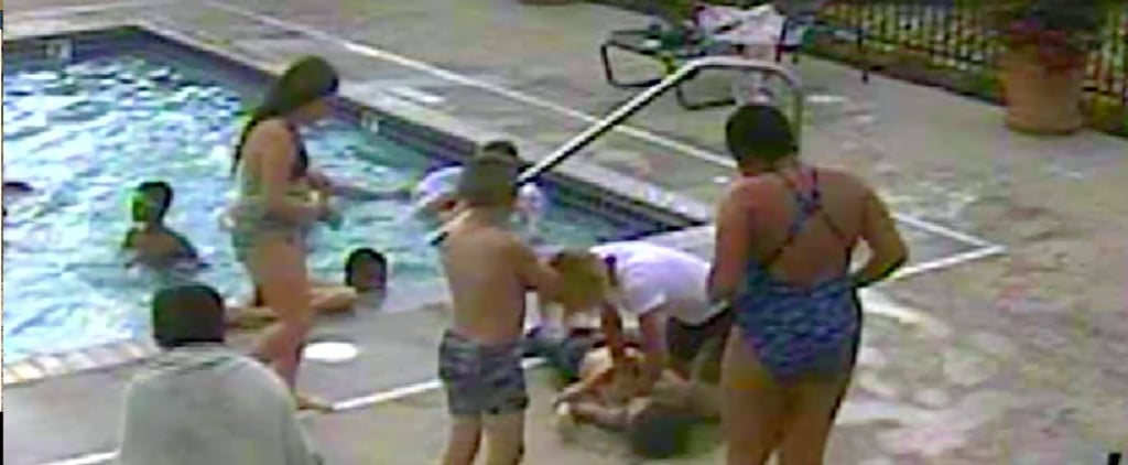 Boy and Wheelchair-Bound Woman Save Drowning Child