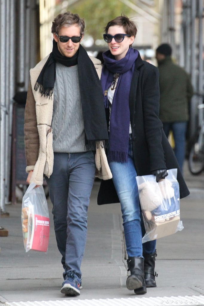 Anne and Adam Get an Early Start on Holiday Shopping