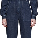 Alexachung Blue Denim Oversized Boiler Suit ($425)
