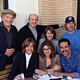 The cast of Just Shoot Me had a reunion! Source: Instagram user davidspade