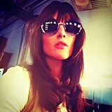 Hilary Rhoda showed off some sweet new bangs. Source: Instagram user hilaryhrhoda