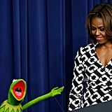 "Kermit was like, ""Isn't she the best?!"""