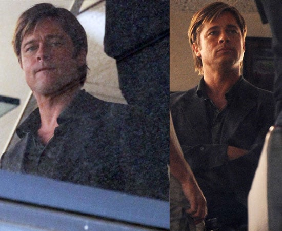 Pictures of Clean-Shaven Brad Pitt