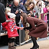 When She Made Sure to Shake This Little Girl's Hand