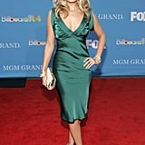 She showed off a rather stunning red carpet look for the Billboard Music Awards in December 2004.