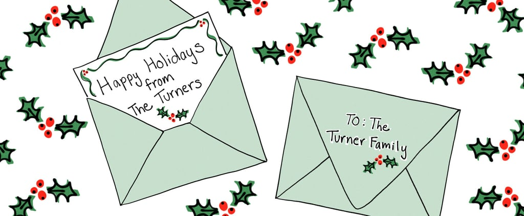 How to Make Last Names Plural on Holiday Cards