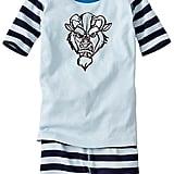 Kids Disney Beauty & The Beast Short John Pajamas ($42)