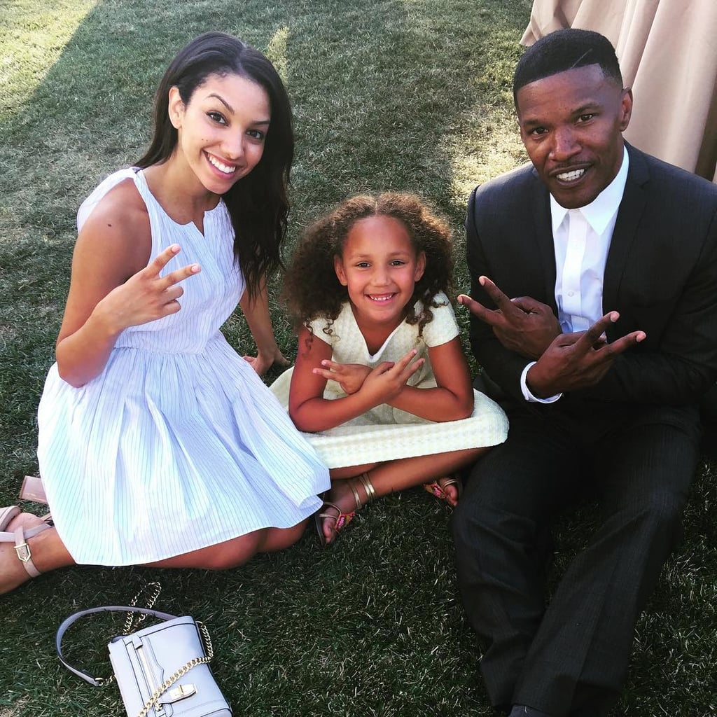 pictures of jamie foxx with his daughters popsugar celebrity