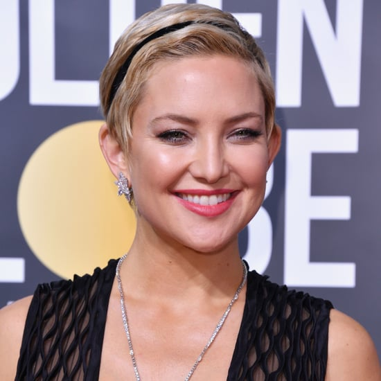 Kate Hudson's Hair at the 2018 Golden Globes
