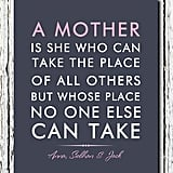 Personalized Mom Print