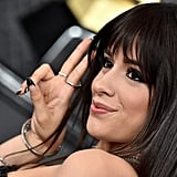 Camila Cabello's Black French Manicure at the 2020 Grammy Awards