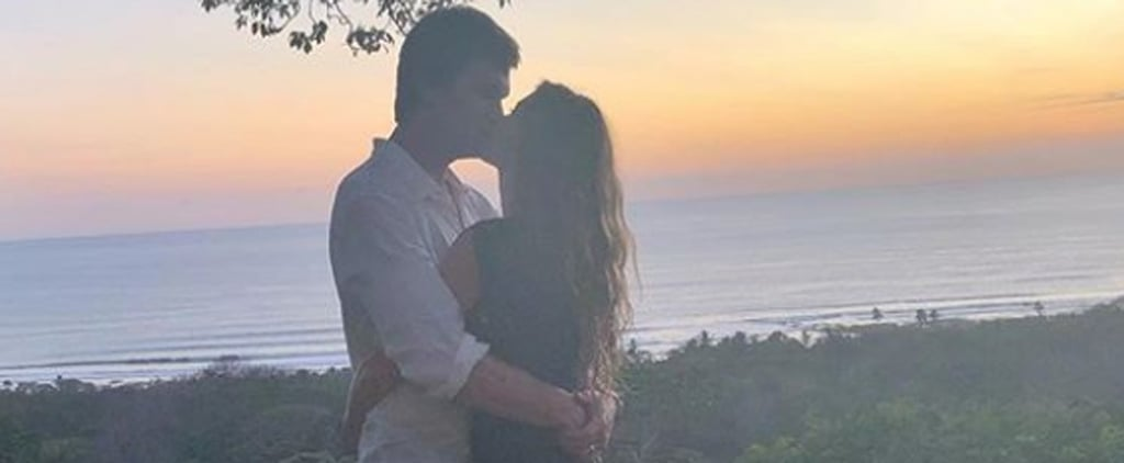 Tom Brady Kissing Gisele Bundchen Instagram Photo 2018