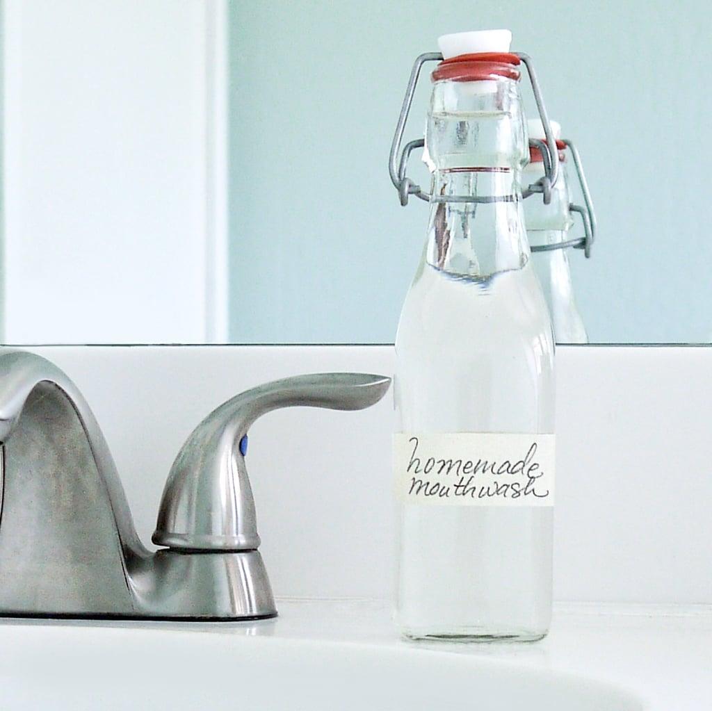 Homemade All-Natural Mouthwash