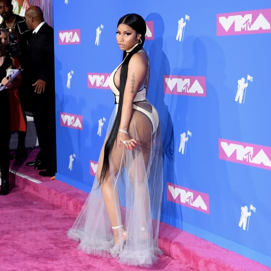 Nicki Minaj Hair at the 2018 VMAs