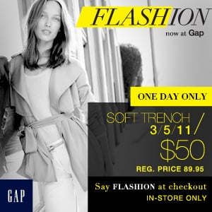 Gap Flashion Brings You the Hottest Styles at Exclusive Discount Prices