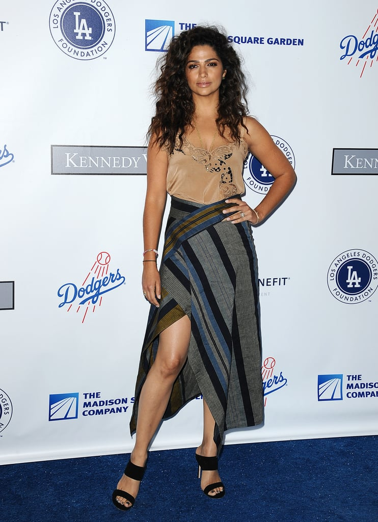 In July 2016 at the LA Dodgers Foundation Gala in Los Angeles