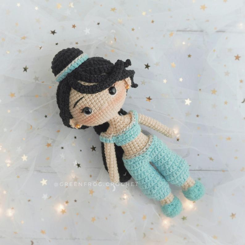 Disney Princess Doll Crochet Pattern — Jasmine
