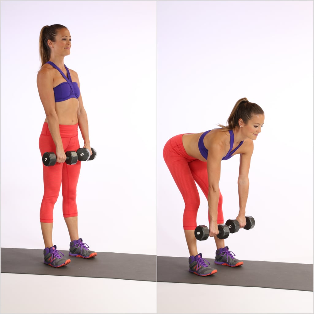 2) Romanian Deadlift   21-Day Butt-Building Challenge   POPSUGAR Fitness  Middle East Photo 4
