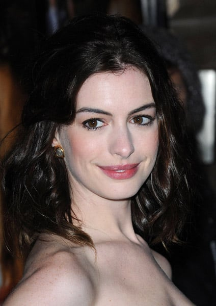 Anne Hathaway Makeup at The 2008 London Film Festival ...