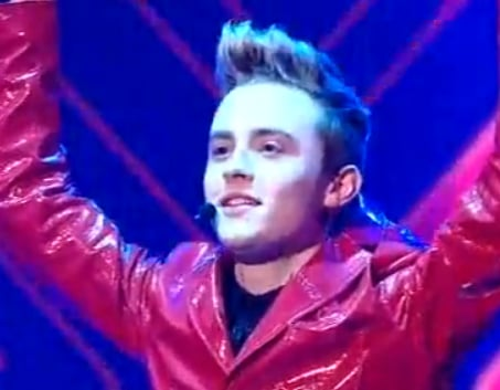 """Video of The X Factor Twins John & Edward Sing """"Oops I Did It Again"""". Was It Amazing or Awful?"""