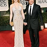 Nicole Kidman and Keith Urban at the Golden Globes.