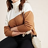 Leanna Colorblocked Turtleneck