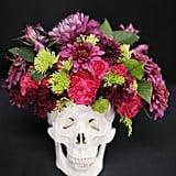 Skull Floral Centerpiece