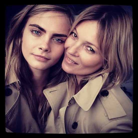 Kate Moss Beauty Interview Cara Delevingne