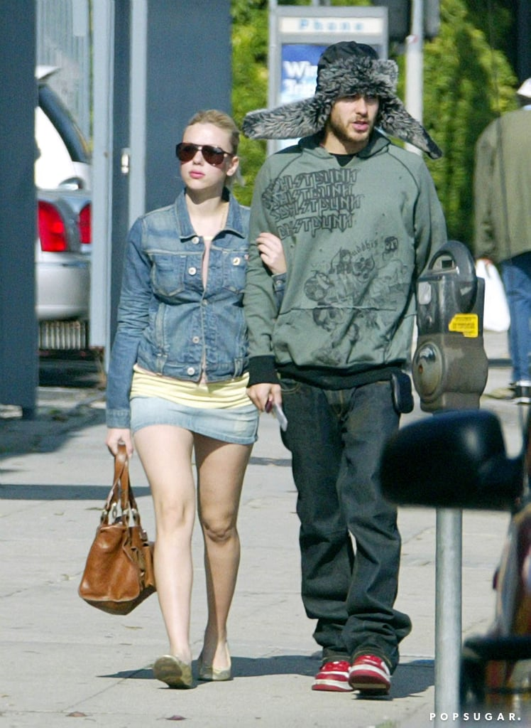 Scarlett Johansson and Jared Leto