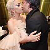 Pictured: Lady Gaga and Christian Carino