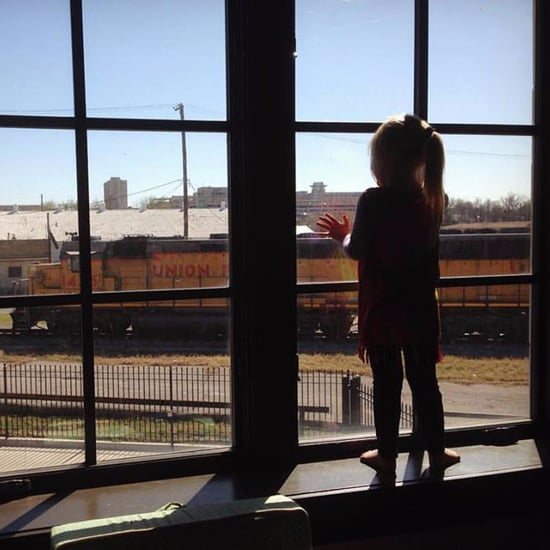 Girl Waves at Trains Every Day Until She Starts School