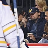 When He Indulged in Some Ice Cream at a Hockey Game