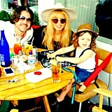 It was a full family birthday celebration for Rachel Zoe, complete with a very happy looking Skyler over Labor Day weekend. Source: Instagram user rachelzoe