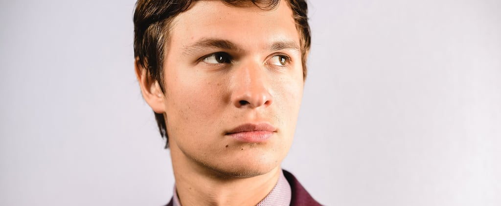 What Does Ansel Elgort Take From Movie Sets?
