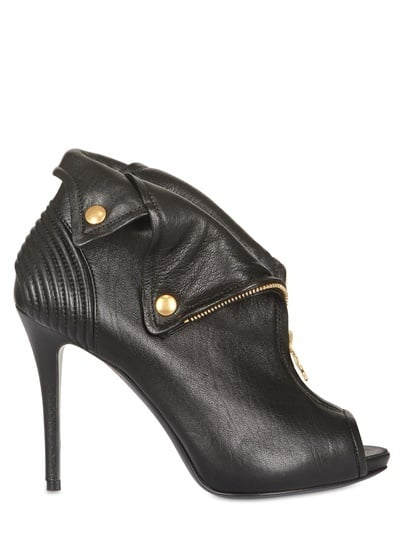 Slip into these sleek booties when you want a quick military-inspired fix. Alexander McQueen Faithfull Boots ($1,155)